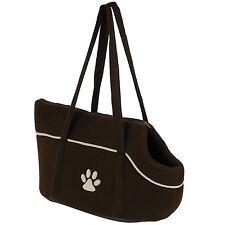 ME & MY SOFT BROWN PET CARRIER SHOULDER TRAVEL BAG DOG/PUPPY/CAT CRATE/HANDBAG