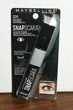 New! Maybelline Snapscara Mascara 300 Pitch Black