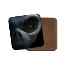 Awesome Alien Face Coaster - Eye Sci-Fi Extraterrestrial Space Cool Gift #14291