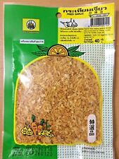 Fried Garlic Seasoning Spice Ready to Use Thai Food Dressing for Noodle Soup 40g