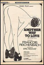 SEX O'CLOCK USA__Original 1976 Cannes Trade AD / poster__FRANCOIS REICHENBACH