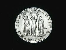 Schweiz-CH.,  5 Franken, 1941 B, Gedenkmünze, Bundesfeier, Silber, orig.,vz/St.!