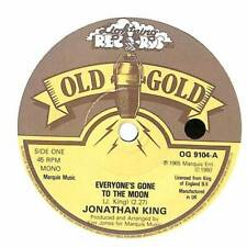 "Jonathan King - Everyone's Gone To The Moon  - 7"" Record Single"