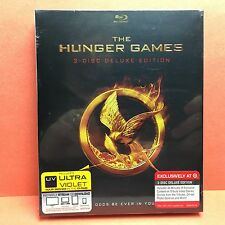 The Hunger Games (Blu-Ray/2012) TARGET EXCLUSIVE! Katniss Jennifer Lawrence NEW!