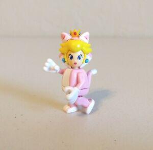K'nex Super Mario Bros Series 10 Cat Peach Figure Complete Adult Collector Owned