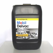 MOBIL DELVAC XHP EXTRA 10W40 DA 20 L. OLIO MOTORE DIESEL CAMION FURGONE TRATTORE