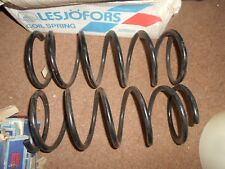 VW Golf Mk1, Scirocco 1974-80 Pair of LESJOFORS Front Coil Springs