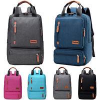 Damen Herren Rucksack Schule Sport Freizeit Laptop Tasche Backpack Schulrucksack
