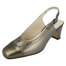 Donna Equity PELTRO scarpa con cinturino sul retro Venetia Taglia UK 3 e per
