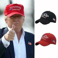 Casquette Donald Trump 2020 Make America Great Again Chapeau Rouge / Noir