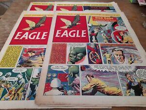 4 EAGLE COMICS 1955