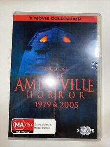 The Amityville Horror 1979 & 2005 Films - Two Disc Set DVD - Region 4 FREE POST