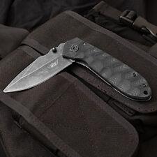 UZI EVN Stone Wash VI Folding Non-Spring Assist Knife plain edge, stainless s...
