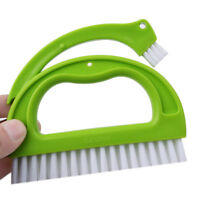 Bathroom Kitchen Cleaning Brush Joint Tile Grout Scrubber Set Useful LP