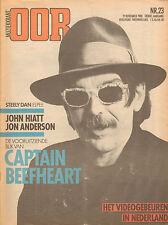 MAGAZINE OOR 1980 nr. 23 - CAPTAIN BEEFHEART (PHOTO'S ANTON CORBIJN) /JOHN HIATT