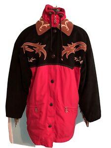 bogner ski jacket vtg western