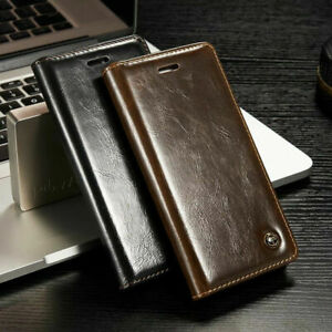 Genuine CaseMe Leather Flip Wallet Card Case Cover For iPhone 11 Pro XS Max SE 8