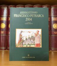 Agenda Letteraria Francesco Petrarca 2004 Gianni Rizzoni Libri Scheiwiller