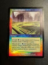 Foil Centaur Garden Card - Odyssey - Great Condition - Magic the Gathering