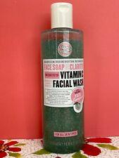 ⭐️⭐️⭐️⭐️⭐️ Soap & Glory Face Soap & Clarity Vitamin C Facial Wash 11.8oz FastShp