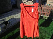 Boden Kleid Gr. 20 Reg Vanda besticktes Kleid ww292