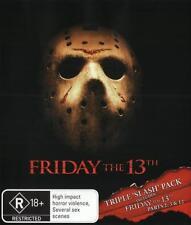 Friday the 13th - Triple Slash Pack Boxset * Blu-ray NEW *