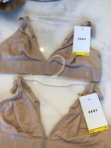 DKNY MEDIUM TWO.bralette Nude In Colour £35 For Both