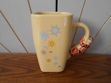 TIGGER large coffee mug DISNEY STORE mini ceramic figure handle WINNIE THE POOH