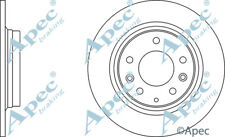 REAR BRAKE DISCS (PAIR) FOR MAZDA 323 F/P GENUINE APEC DSK2197