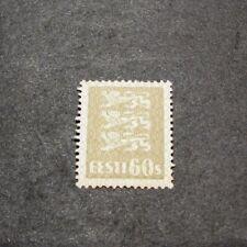 Estonia Stamp Scott#  103   Arms 1929   MH  L127