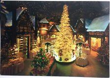 Kathe Wohlfahrt Rothenburg Christmas Village Germany Vintage Postcard #B32f