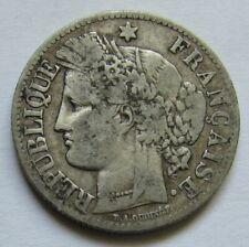 2 francs argent Cérès 1881 A