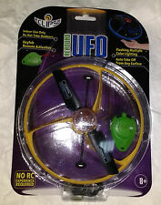 Eclipse Rebound UFO ellow Remote Controlled flying disc RC No experience requred