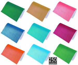 30 A4 Glitter Card Colored Cardstock Premium Quality Self Adhesive 250gsm Crafts