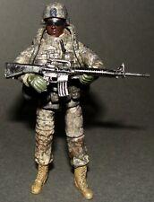1:18 OURWAR Tieka U.S Army 101st Infantry M16 Carbine Rifleman Soldier Figure