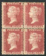 Great Britain - 1858-79 (SG.43) 1d rose-red Plate 192 [IQ-JR] blk.4. Mint.