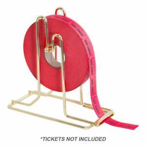 Brass Plated Raffle Ticket Dispenser