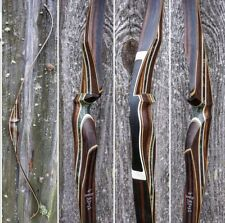 TRADITIONAL RECURVE BOW 60'' 45#@28'' bamboo limbs