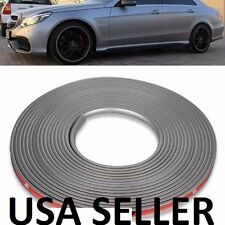 "JDM GREY WHEEL RIM PROTECTOR CAR TIRE GUARD LINE RUBBER MOULDING 8M 22"" SUV CRV"