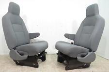 97-10 FORD ECONOLINE VAN BUS RV MINI HOME E150 E250 350 450 GRAY XLT SEATS