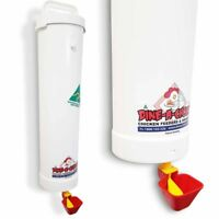 Dine a Chook 4 Litre Chicken Drinker - Feeder & Waterer Sets Available / Poultry