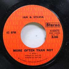 Rock Nm! 45 Ian & Sylvia - More Often Than Not / Some Kind Of Fool On Columbia