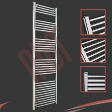 500mm(w) x 1800mm(h) Straight Chrome Heated Towel Rail 2923 BTUs Radiator Warmer