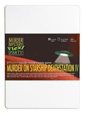 Murder on Starship Deathstation IV star wars trek gift murder mystery party 4-12