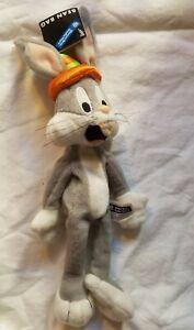 Bugs Bunny Bean Bag BIRTHDAY Plush Warner Bros Studio Looney Tunes 1998