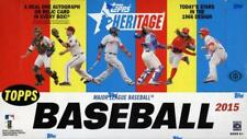 2015 Topps Heritage Hobby Baseball - (three) Factory Boxes
