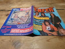 SCORPIONS - ATTENTAT ROCK - JUDAS PRIEST - Enfer magazine N°25 de 1985