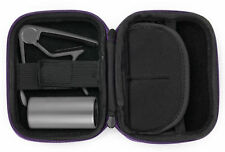 Hard Purple EVA Shell Case / Box for Guitar Accessories - Capo, Slide & Plectrum