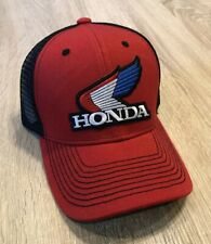 NEW Honda Trucker Hat Cap Mesh Adjustable Embroidered Patch Style Racing Wing Re