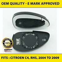 Citroen C4 2004 to 2009 Wing Mirror RIGHT HAND  Driver Side